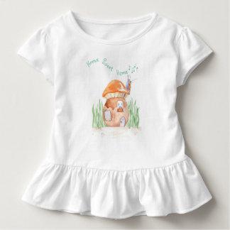 """T-shirt Pour Les Tous Petits """" Pièce en t à la maison douce """"à la maison de"""