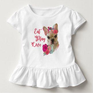T-shirt Pour Les Tous Petits Pièce en t de ruche avec la conception mignonne