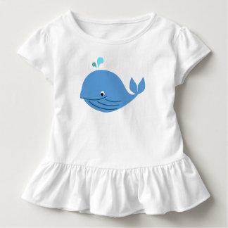 T-shirt Pour Les Tous Petits Pièce en t de ruche de baleine bleue
