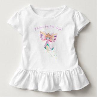 """T-shirt Pour Les Tous Petits Pièce en t de ruche de bébé """"d'ami féerique"""""""
