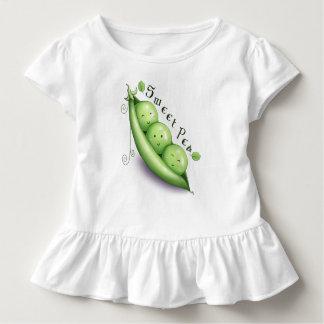 T-shirt Pour Les Tous Petits Pièce en t de ruche de pois doux