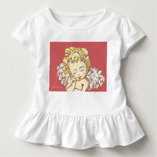 T-shirt Pour Les Tous Petits Pièce en t de ruche d'enfant en bas âge d'angle de