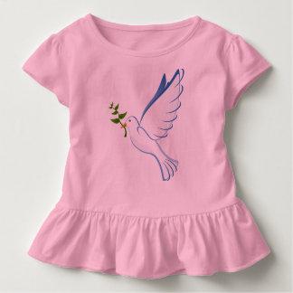 T-shirt Pour Les Tous Petits Pièce en t de ruche d'enfant en bas âge de colombe