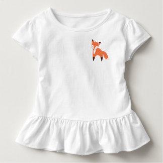 T-shirt Pour Les Tous Petits Pièce en t de ruche d'enfant en bas âge de Fox de