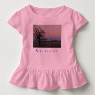 T-shirt Pour Les Tous Petits Pièce en t de ruche du Colorado d'enfant en bas