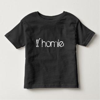 T-shirt Pour Les Tous Petits pièce en t d'enfant en bas âge de homie de lil