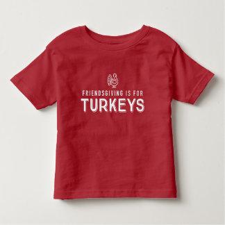 """T-shirt Pour Les Tous Petits Pièce en t d'enfants de """"dindes"""" de Friendsgiving"""