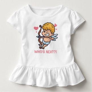 T-shirt Pour Les Tous Petits Pièce en t drôle de ruche de la Saint-Valentin |