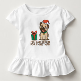 T-shirt Pour Les Tous Petits Pièce en t drôle de ruche de Noël | de carlin et