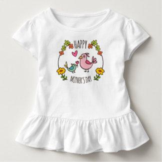 T-shirt Pour Les Tous Petits Pièce en t heureuse adorable de ruche du jour de