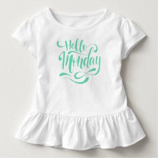 T-shirt Pour Les Tous Petits Pièce en t lunatique mignonne de ruche de lundi |
