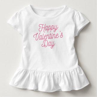 T-shirt Pour Les Tous Petits Pièce en t rose de ruche de la heureuse