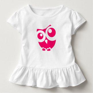 T-shirt Pour Les Tous Petits Pièce en t rose mignonne de ruche d'enfant en bas