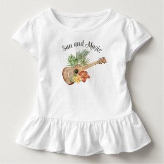 T-shirt Pour Les Tous Petits Pièce en t simple de ruche de l'été | de plage de