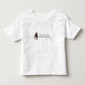 T-shirt Pour Les Tous Petits pinscher miniature