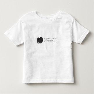 T-shirt Pour Les Tous Petits pomeranian