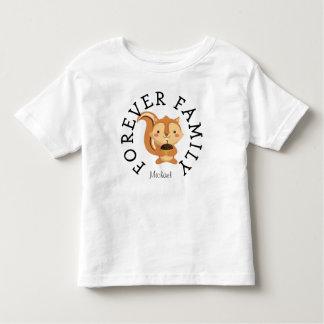 T-shirt Pour Les Tous Petits Pour toujours cadeau d'adoption de tamia de région