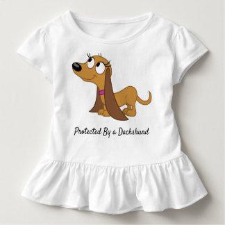 T-shirt Pour Les Tous Petits Protégé par une chemise de ruche d'enfant en bas