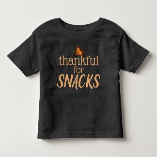 T-shirt Pour Les Tous Petits Reconnaissant pour la chemise de casse-croûte
