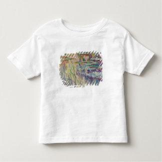 T-shirt Pour Les Tous Petits Réflexions de Claude Monet   sur l'eau, 1917