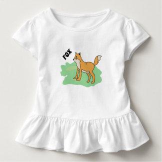 T-shirt Pour Les Tous Petits renard dans le domaine