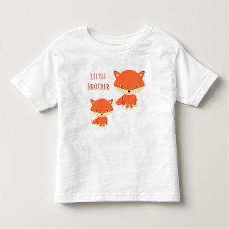 T-shirt Pour Les Tous Petits Renards de petit frère