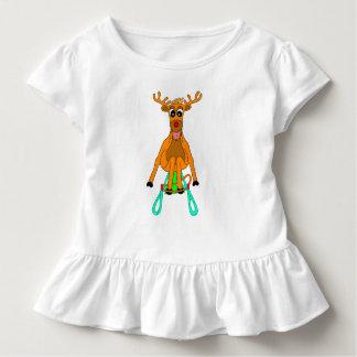 T-shirt Pour Les Tous Petits Renne de Sledging