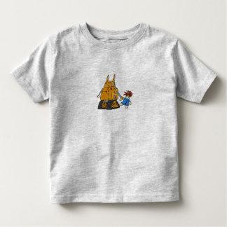 T-shirt Pour Les Tous Petits Robot et chariot