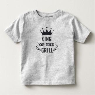 T-shirt Pour Les Tous Petits Roi drôle de la chemise du gril |