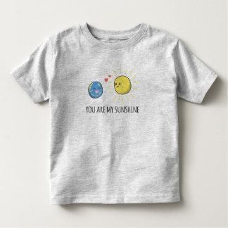 T-shirt Pour Les Tous Petits Romantique drôle vous êtes ma chemise du soleil |