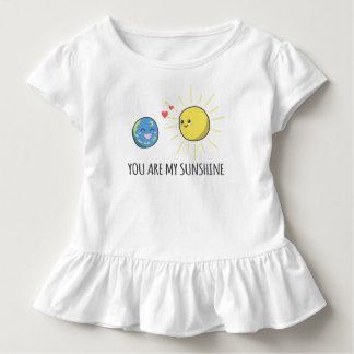 T-shirt Pour Les Tous Petits Romantique drôle vous êtes ma pièce en t de ruche
