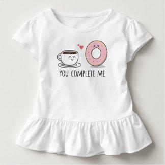 T-shirt Pour Les Tous Petits Romantique drôle vous m'accomplissez pièce en t de
