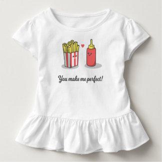 T-shirt Pour Les Tous Petits Romantique drôle vous m'incitez à perfectionner la