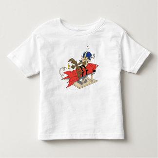 T-shirt Pour Les Tous Petits Rouge Rocket d'E. Coyote Launching de Wile