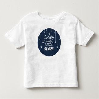 T-shirt Pour Les Tous Petits Scintillement mignon de scintillement de cercle