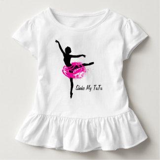 T-shirt Pour Les Tous Petits Secouez mon tutu