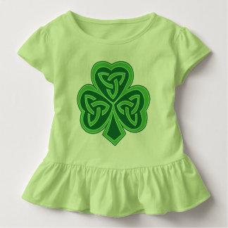 T-shirt Pour Les Tous Petits Shamrock celtique de noeud