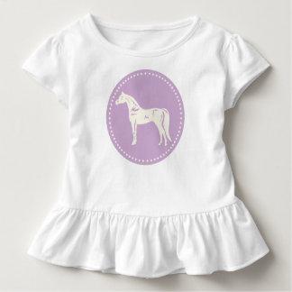 T-shirt Pour Les Tous Petits Silhouette Arabe de cheval