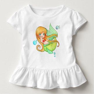 T-shirt Pour Les Tous Petits Sirène de coucher du soleil