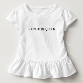 T-shirt Pour Les Tous Petits Soutenu pour être fille d'enfant en bas âge de