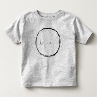 T-shirt Pour Les Tous Petits Soyez aimable