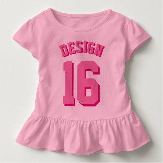 T-shirt Pour Les Tous Petits Sports roses Jersey de l'enfant en bas âge |