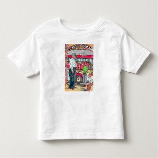 T-shirt Pour Les Tous Petits Tee - shirt d'enfant en bas âge de crochet et de