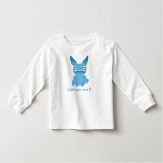 T-shirt Pour Les Tous Petits teeshirt enfant monstre bleu