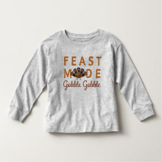 T-shirt Pour Les Tous Petits Thanksgiving