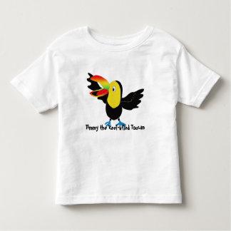 T-shirt Pour Les Tous Petits Timmy le toucan Quille-affiché