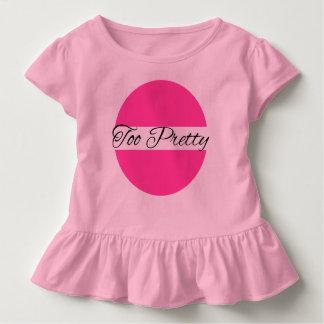 T-shirt Pour Les Tous Petits Trop assez