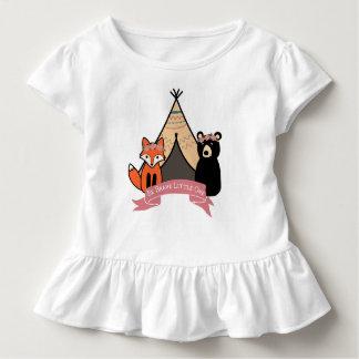 T-shirt Pour Les Tous Petits Tutu de bébé de région boisée