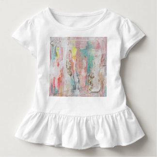 T-shirt Pour Les Tous Petits Un jour beau - peinture abstraite de médias