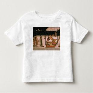 T-shirt Pour Les Tous Petits Un prince de Mughal recevant une dame la nuit